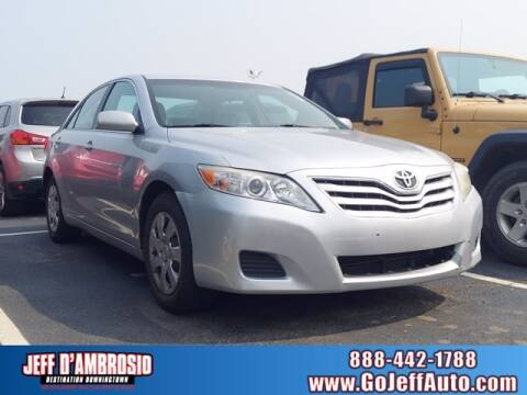 2010 Toyota Camry for sale at Jeff D'Ambrosio Auto Group in Downingtown PA