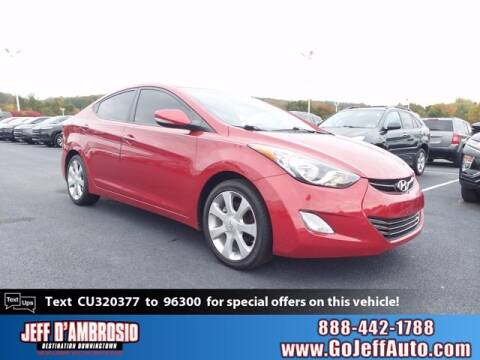 2012 Hyundai Elantra for sale at Jeff D'Ambrosio Auto Group in Downingtown PA