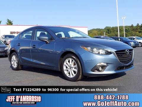 2015 Mazda MAZDA3 for sale at Jeff D'Ambrosio Auto Group in Downingtown PA