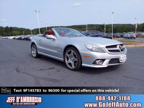 2009 Mercedes-Benz SL-Class for sale at Jeff D'Ambrosio Auto Group in Downingtown PA