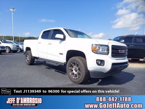 2018 GMC Canyon for sale at Jeff D'Ambrosio Auto Group in Downingtown PA