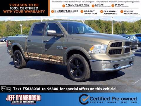 2015 RAM Ram Pickup 1500 for sale at Jeff D'Ambrosio Auto Group in Downingtown PA