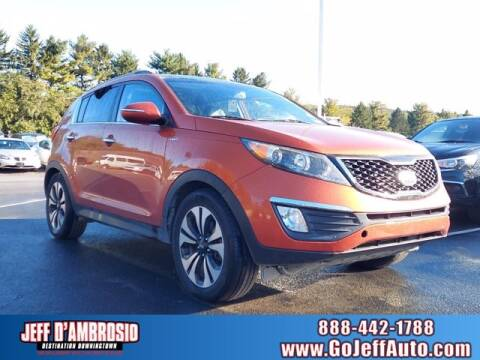 2011 Kia Sportage for sale at Jeff D'Ambrosio Auto Group in Downingtown PA