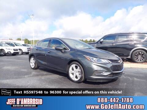 2017 Chevrolet Cruze for sale at Jeff D'Ambrosio Auto Group in Downingtown PA