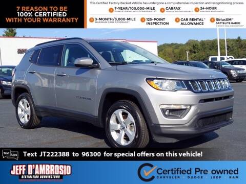 2018 Jeep Compass for sale at Jeff D'Ambrosio Auto Group in Downingtown PA