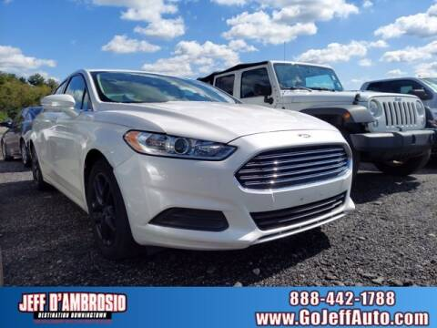 2014 Ford Fusion for sale at Jeff D'Ambrosio Auto Group in Downingtown PA