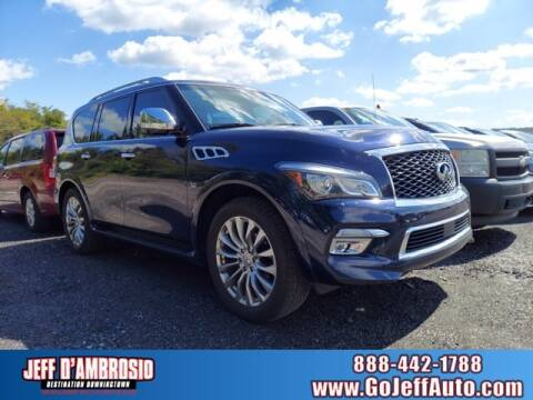 2015 Infiniti QX80 for sale at Jeff D'Ambrosio Auto Group in Downingtown PA