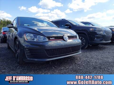 2017 Volkswagen Golf GTI for sale at Jeff D'Ambrosio Auto Group in Downingtown PA