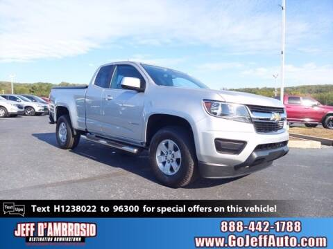 2017 Chevrolet Colorado for sale at Jeff D'Ambrosio Auto Group in Downingtown PA