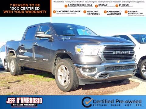 2019 RAM Ram Pickup 1500 for sale at Jeff D'Ambrosio Auto Group in Downingtown PA