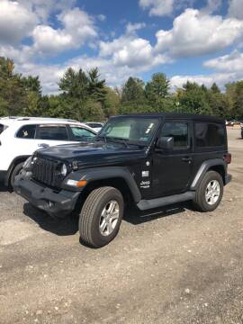 2019 Jeep Wrangler for sale at Jeff D'Ambrosio Auto Group in Downingtown PA