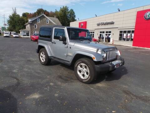 2013 Jeep Wrangler for sale at Jeff D'Ambrosio Auto Group in Downingtown PA