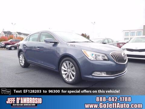 2014 Buick LaCrosse for sale at Jeff D'Ambrosio Auto Group in Downingtown PA