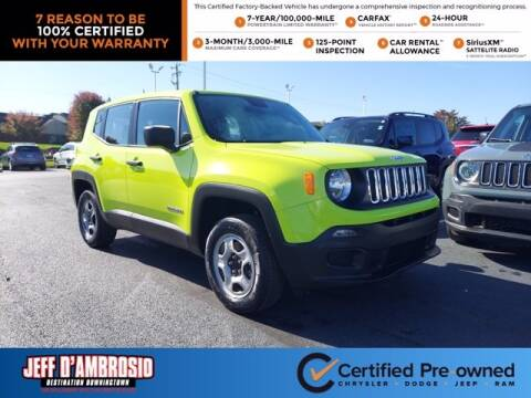 2017 Jeep Renegade for sale at Jeff D'Ambrosio Auto Group in Downingtown PA