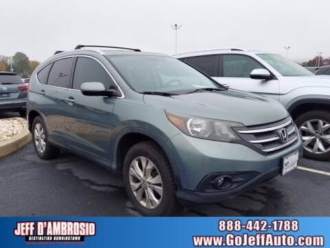 2012 Honda CR-V for sale at Jeff D'Ambrosio Auto Group in Downingtown PA