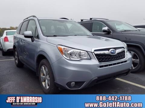 2016 Subaru Forester for sale at Jeff D'Ambrosio Auto Group in Downingtown PA