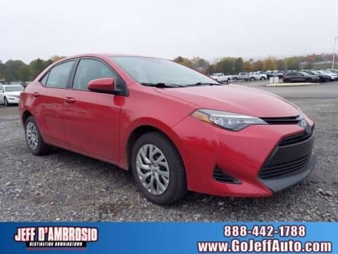 2017 Toyota Corolla for sale at Jeff D'Ambrosio Auto Group in Downingtown PA