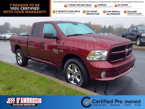 2019 RAM Ram Pickup 1500 Classic for sale at Jeff D'Ambrosio Auto Group in Downingtown PA