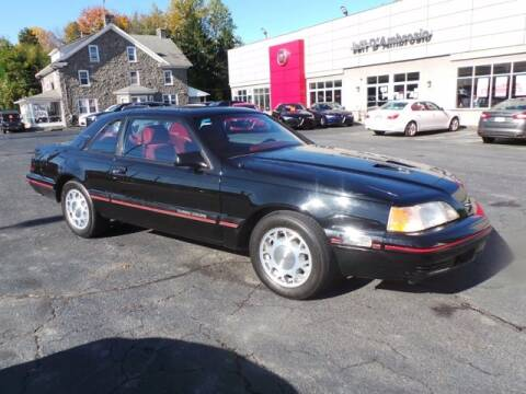 1987 Ford Thunderbird for sale at Jeff D'Ambrosio Auto Group in Downingtown PA
