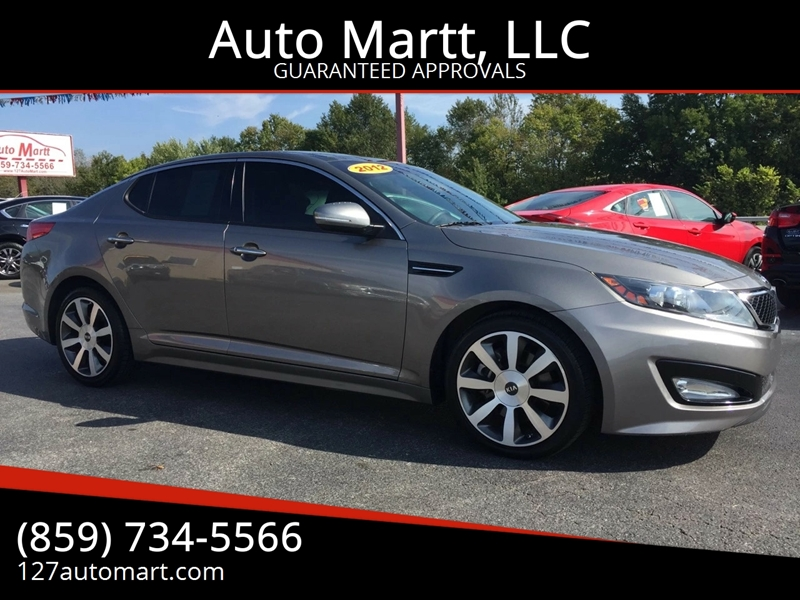 2012 Kia Optima SX Turbo 4dr Sedan 6A   Harrodsburg KY