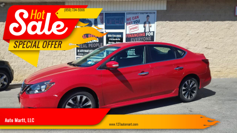 2019 Nissan Sentra for sale at Auto Martt, LLC in Harrodsburg KY