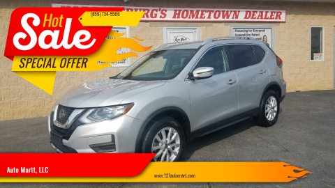 2019 Nissan Rogue for sale at Auto Martt, LLC in Harrodsburg KY