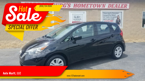 2019 Nissan Versa Note for sale at Auto Martt, LLC in Harrodsburg KY