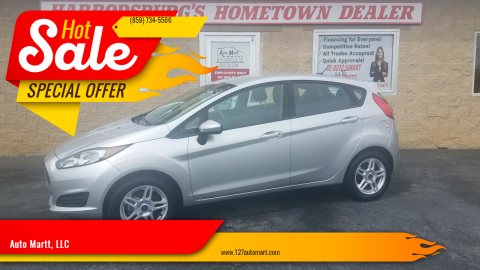 2019 Ford Fiesta for sale at Auto Martt, LLC in Harrodsburg KY