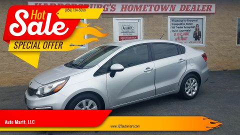 2017 Kia Rio for sale at Auto Martt, LLC in Harrodsburg KY