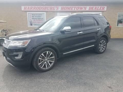 2016 Ford Explorer for sale at Auto Martt, LLC in Harrodsburg KY