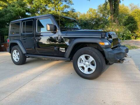 2020 Jeep Wrangler Unlimited for sale at Auto Martt, LLC in Harrodsburg KY