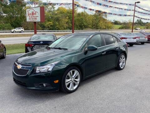 2014 Chevrolet Cruze for sale at Auto Martt, LLC in Harrodsburg KY