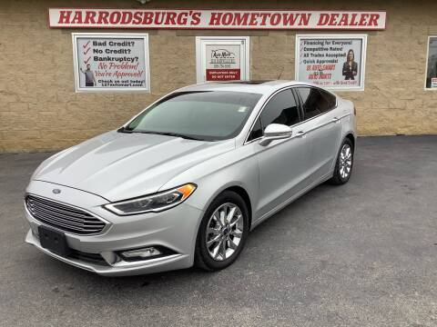 2017 Ford Fusion for sale at Auto Martt, LLC in Harrodsburg KY