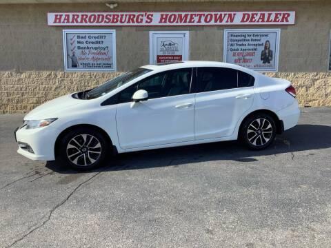 2013 Honda Civic for sale at Auto Martt, LLC in Harrodsburg KY