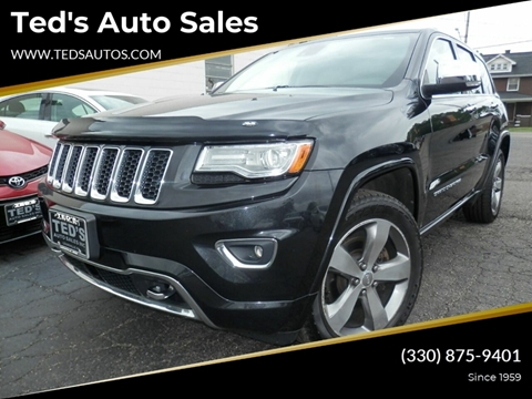 2014 Jeep Grand Cherokee for sale at Ted's Auto Sales in Louisville OH