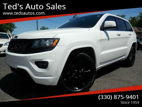 2015 Jeep Grand Cherokee for sale at Ted's Auto Sales in Louisville OH