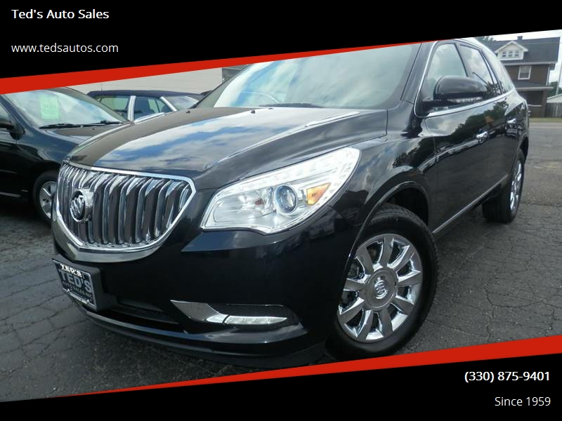2014 buick enclave awd premium 4dr crossover in louisville oh ted 39 s auto sales. Black Bedroom Furniture Sets. Home Design Ideas
