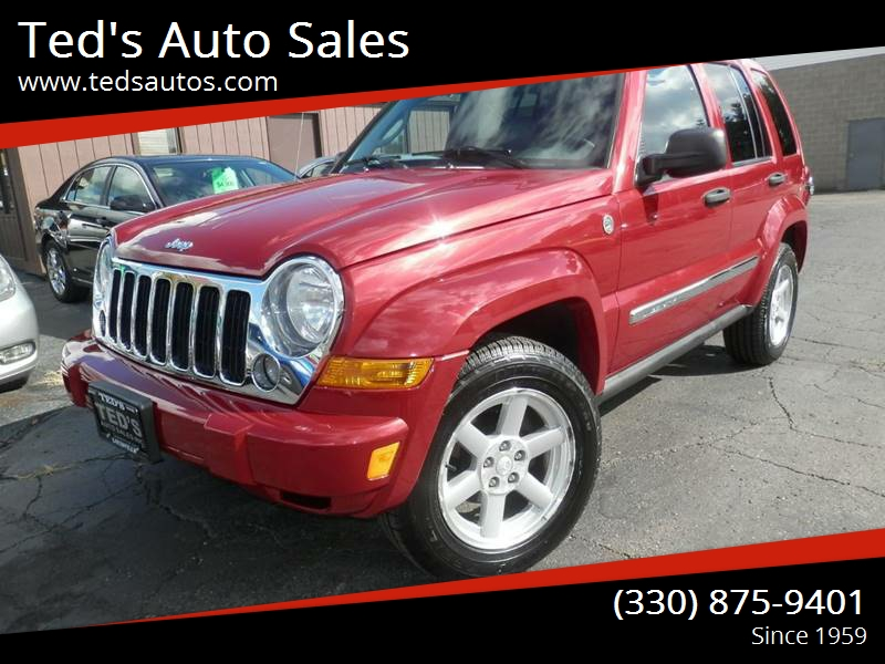 2007 Jeep Liberty Limited 4dr SUV 4WD   Louisville OH