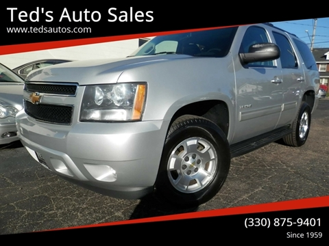 2014 Chevrolet Tahoe for sale at Ted's Auto Sales in Louisville OH