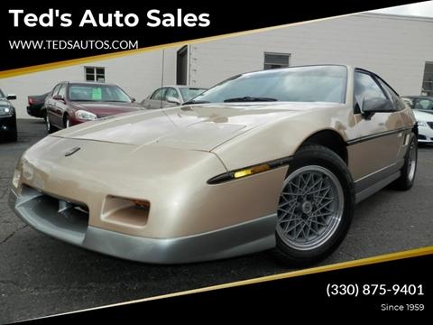 1987 Pontiac Fiero for sale in Louisville, OH
