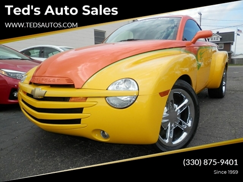 2004 Chevrolet SSR for sale at Ted's Auto Sales in Louisville OH