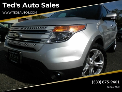 2013 Ford Explorer for sale at Ted's Auto Sales in Louisville OH