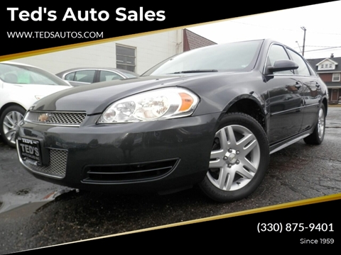 2015 Chevrolet Impala Limited for sale at Ted's Auto Sales in Louisville OH
