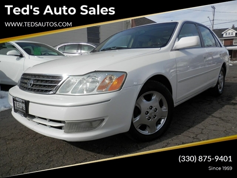 2004 Toyota Avalon XLS for sale at Ted's Auto Sales in Louisville OH