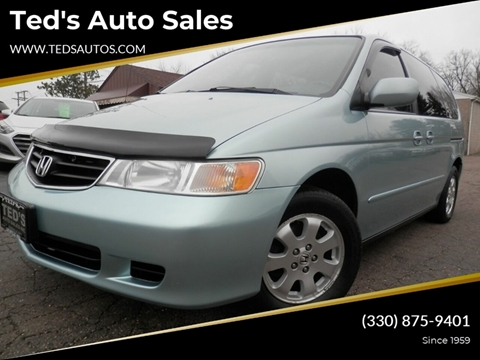 2003 Honda Odyssey for sale at Ted's Auto Sales in Louisville OH
