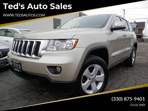 2011 Jeep Grand Cherokee Laredo for sale at Ted's Auto Sales in Louisville OH