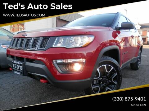 2020 Jeep Compass Trailhawk for sale at Ted's Auto Sales in Louisville OH