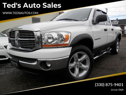 2006 Dodge Ram Pickup 1500 SLT for sale at Ted's Auto Sales in Louisville OH