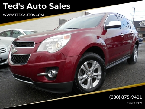 2010 Chevrolet Equinox LTZ for sale at Ted's Auto Sales in Louisville OH