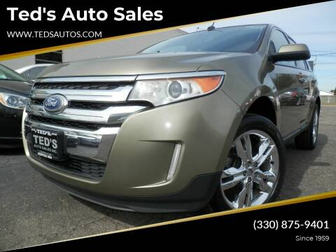 2013 Ford Edge for sale at Ted's Auto Sales in Louisville OH